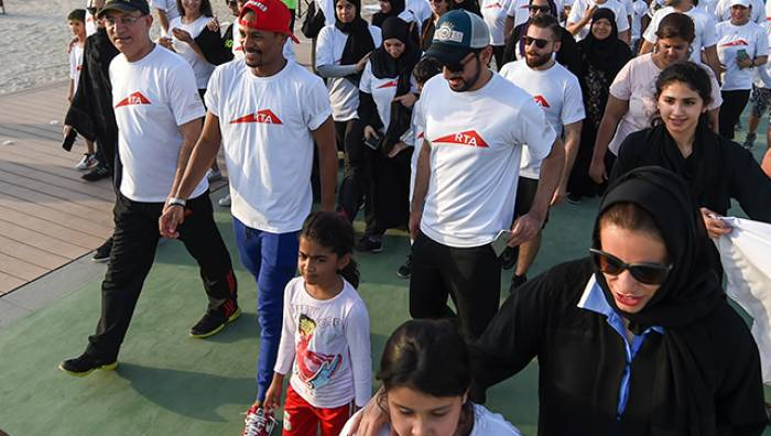 RTA walks the talk with Walk for Good, Make a Difference campaign