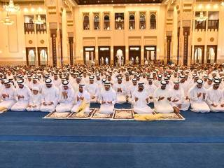 Rulers to offer Eid Al Fitr prayer