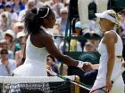 Serena Williams powers to Wimbledon final