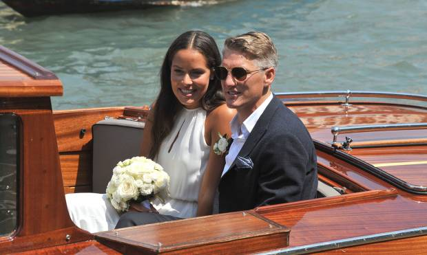 Ana Ivanovic marries Bastian Schweinsteiger