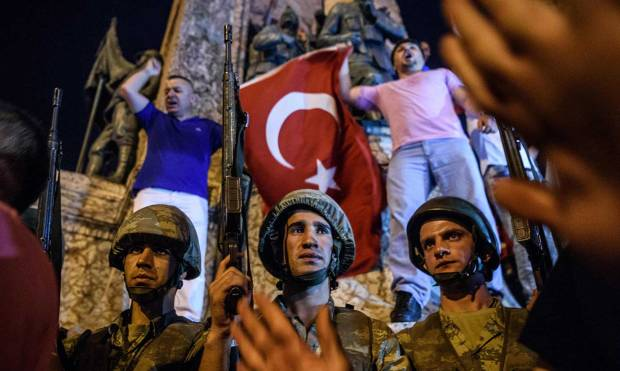 Turkey military coup attempt in pictures