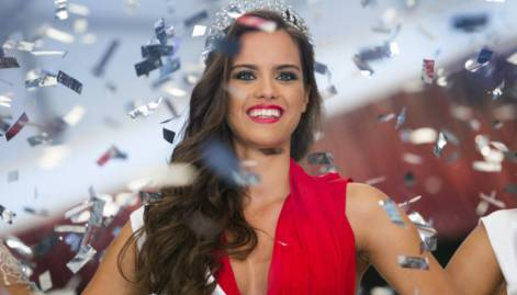 Timea Gelencser wins Miss Hungary title