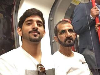 Video: Mohammad takes London Tube