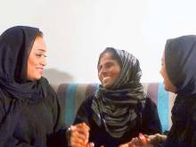 Dubai sisters' emotional reunion with mother