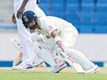 Kohli puts India in charge with 12th Test ton