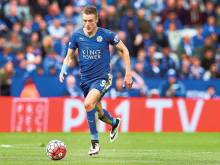 Vardy's 100,000 reasons for loyalty to Leicester