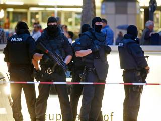 Pictures: Shooting at Munich shopping centre