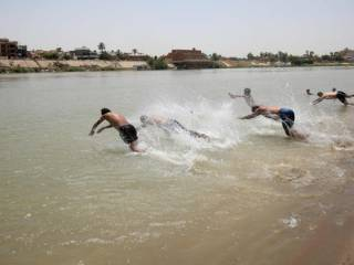 Iraq records hottest day of the year in Basra