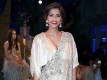 India couture: Sonam Kapoor at Anamika Khanna