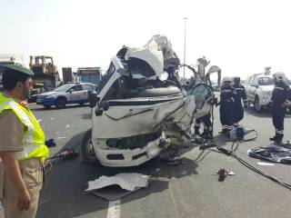 7 killed in Emirates Road accident