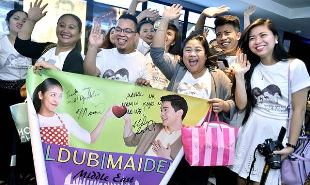 AlDub phenomenon hits Dubai