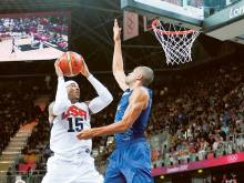 Anthony seeks record third men's basketball gold