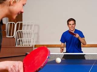 Ping pong hits big strokes in Dubai