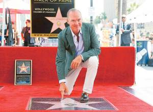 Michael Keaton honoured by Hollywood