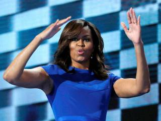 How Michelle Obama delivered a clincher