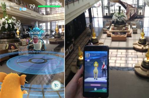 Pokemon Go craze hits Dubai hotel