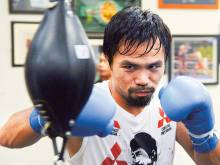 Pacquiao to fight November 5, possibly in Dubai