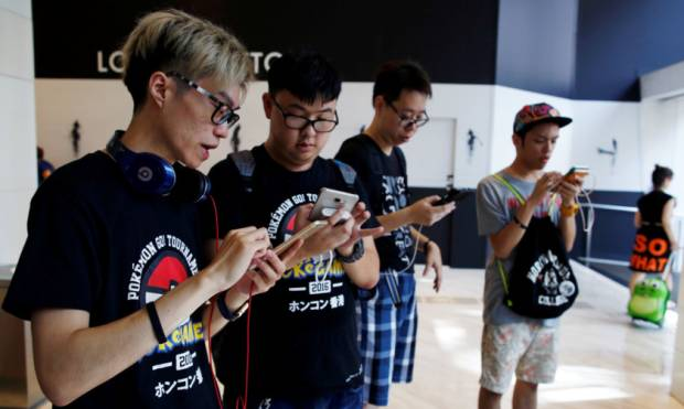 Hong Kong holds first 'PokeWalk'