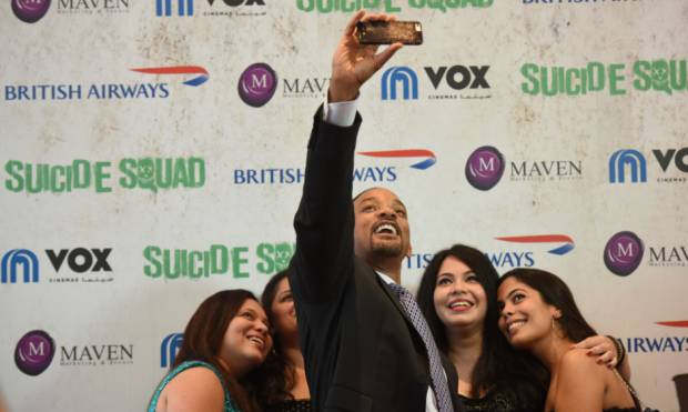 Pictures: Will Smith enthralls Dubai fans
