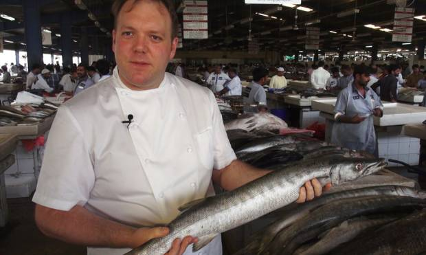 Fish market tips with Chef Paul