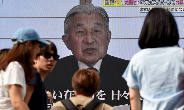 In pictures: Akihito hints at abdication