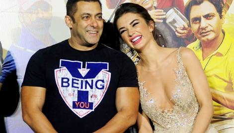 Salman and Amy at 'Freaky Ali' trailer launch