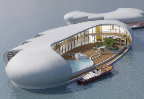 Dubai's new floating homes for Cityscape launch