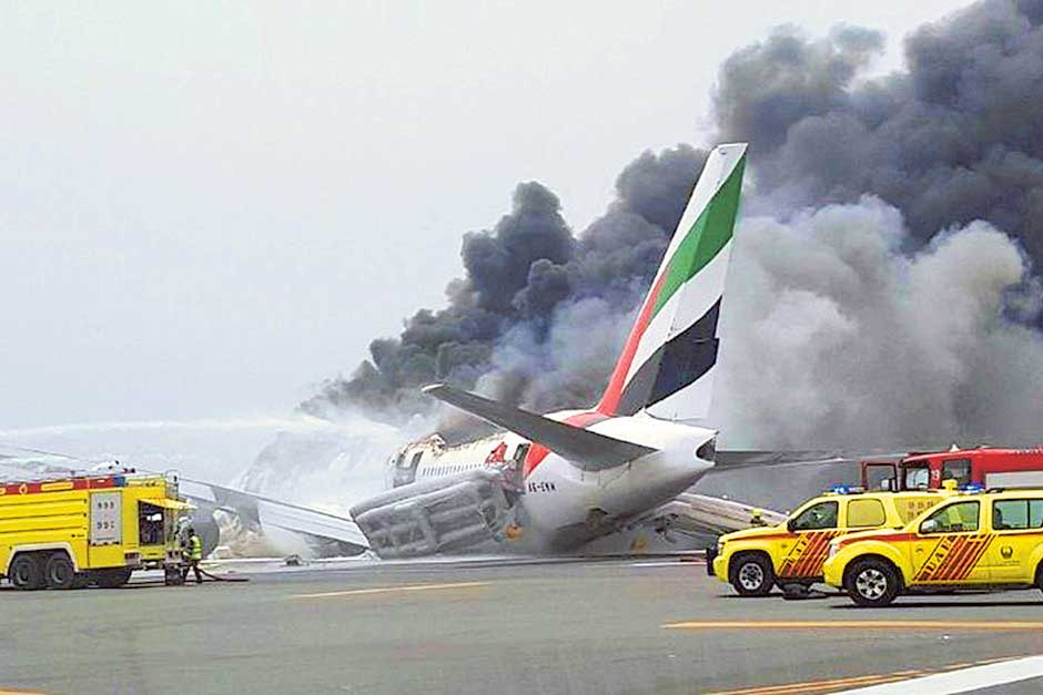 Emirates crash investigation: No 'engine abnormalities'