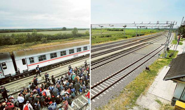 In pictures: Europe's refugee crisis