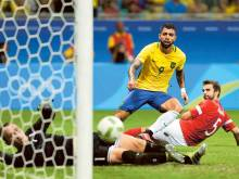 Brazil find shooting boots as Argentina exit