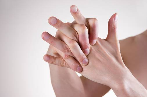 'My wife suffers from swelling in finger joints'
