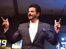 Anil Kapoor switches on charm in Dubai for '24'