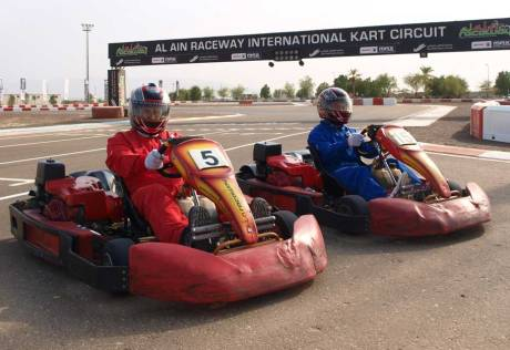 Gaming, karting and where to hang out in UAE