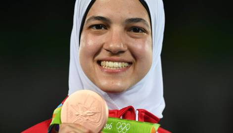 Pictures: Arab medal winners at Rio Olympics