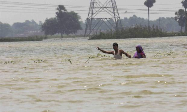 Flood wreaks havoc in many Indian states