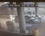 Watch: burning car pulled from petrol pump