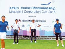 UAE in Taiwan for Asian-Pacific junior golf