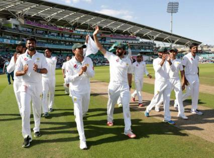 Pakistan replace India as best Test team
