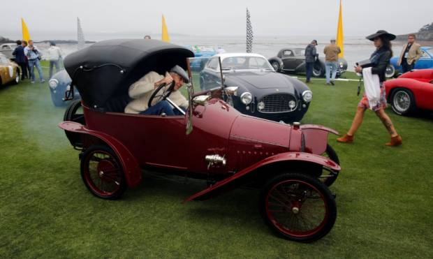 Collector cars on show at Concours D'elegance
