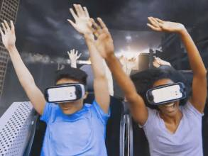 Six Flags is opening virtual reality coaster