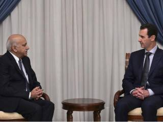 India throws its weight behind Al Assad
