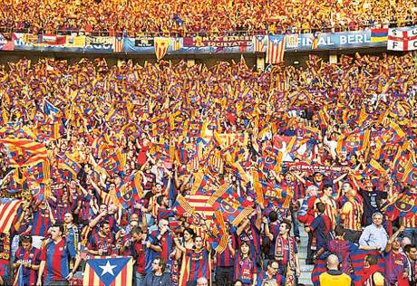 Barcelona fined over Catalan flag