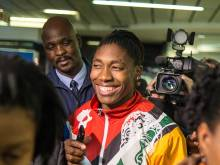 Semenya, South Africa squad get rousing welcome