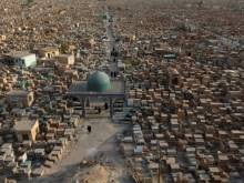 World's largest cemetery expands