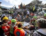 Italy quake: 38 dead in official toll