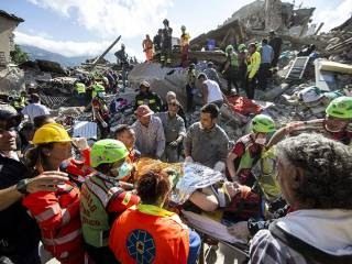 Italy earthquake kills dozens