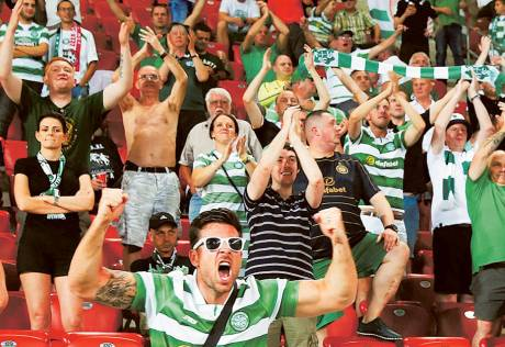 Champions League paradise regained for Celtic