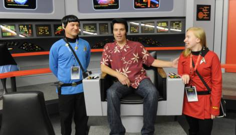 Fan-made Star Trek sets become tourist spot
