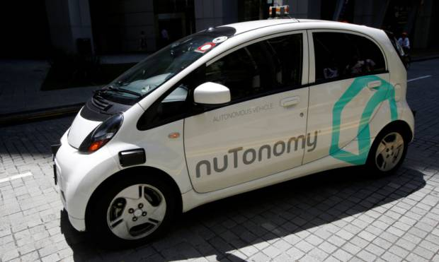 First look: Singapore trials driverless taxis