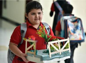UAE classrooms busy again: in pictures